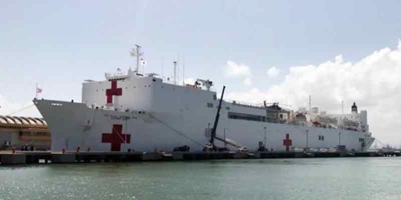 Estados Unidos atenderá a los pacientes de Ecuador en su barco hospital 'USNS Comfort'