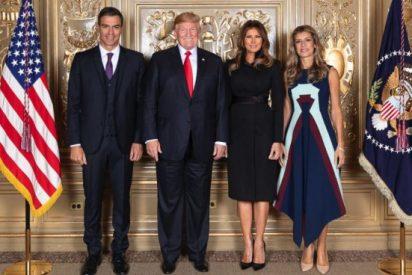 El precio del vestido de la 'enchufada' Begoña Gómez que da calambres hasta a Melania Trump