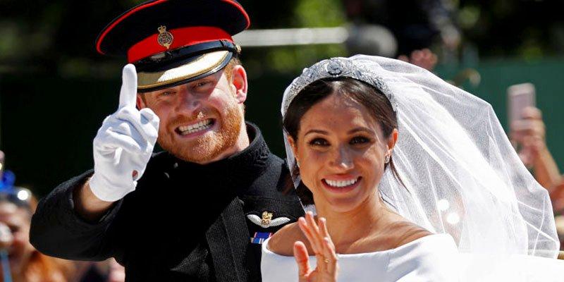 Meghan Markle confiesa el gran secreto que escondía su vestido de novia
