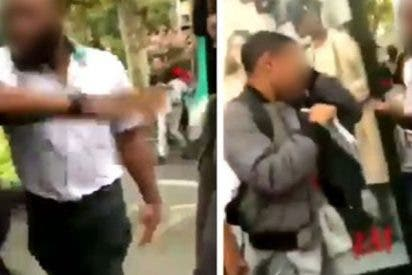 La bofetada de un chofer de autobús a este adolescente divide a Francia