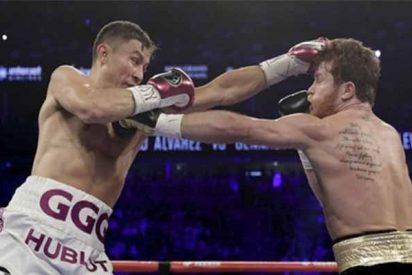 El mexicano Saúl 'Canelo' Álvarez derrotó a Gennady Golovkin y es el nuevo campeón del peso medio