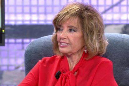 Teresa Campos vuelve a Telecinco, arma bronca en el pasillo y alarma su salud mental