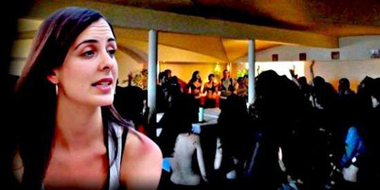 La mala hostia de la 'asaltacapillas' Rita Maestre al ser pillada en bolas tras su boda