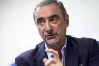 """Carlos Herrera: """"La tesis de Sánchez es un bodrio, un churrete... Y está escrita por turiferarios"""""""