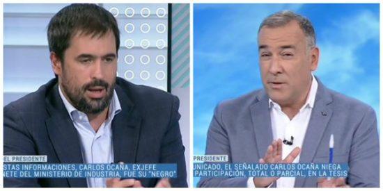 Pánico en TVE con la 'fake tesis' de Sánchez: 'El Lechero' y sus tertulianos caniches callan muertos de miedo