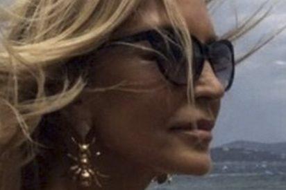 Palos a Carmen Lomana por el postureo de su última imagen publicada en Twitter