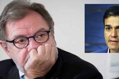 """Juan Luis Cebrián: """"Leyendo la tesis de Sánchez he tenido que luchar contra el bostezo"""""""