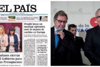 El escándalo de las cintas de Villarejo que acorralan a la ministra Delgado apenas existe para El País
