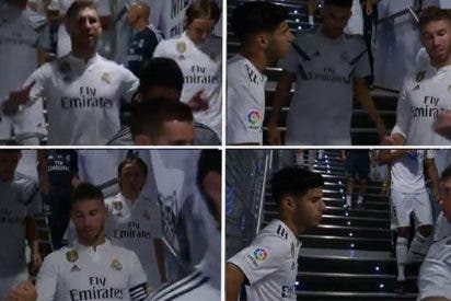 ¿Sabes qué le dijo Sergio Ramos a Asensio en el descanso?