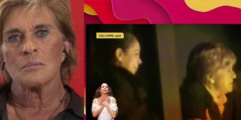 'Sálvame': Chelo García Cortés revela lo que no se vio de la explosiva llamada de Isabel Pantoja
