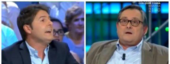 """Francisco Marhuenda vapulea a Jesús Cintora por masajear como un bobo a Sánchez: """"No seas fanático"""""""