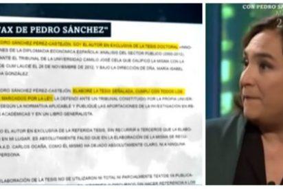 La siniestra 'Nada' Colau jalea, con la complicidad de 'laSecta', la amenaza de Sánchez a ABC, Inda y El Mundo