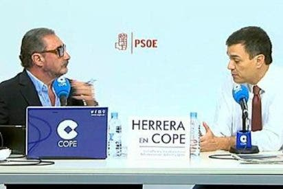 Carlos Herrera desafía en directo a Pedro Sánchez y machaca a Ana Pastor y laSexta