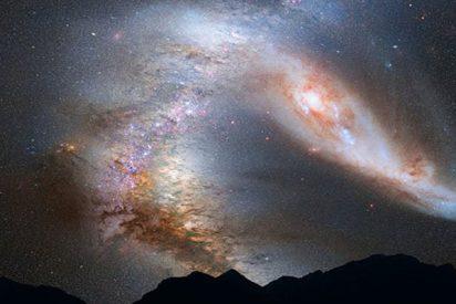 Restricción a la baja del peso estimado de la Vía Láctea