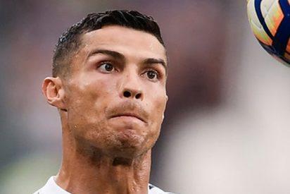 Cristiano Ronaldo vive un momento de tensión cuando un fan muy insistente intenta tocarlo