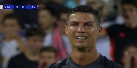 Valencia 0 -Juventus 2: Cristiano Ronaldo demuestra con sus lágrimas, que se equivocó al dejar al Real Madrid
