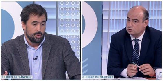 """Marín (ABC) le pinta la cara a Cué (El País): """"Nosotros sí encontramos plagios en la tesis de Sánchez"""""""