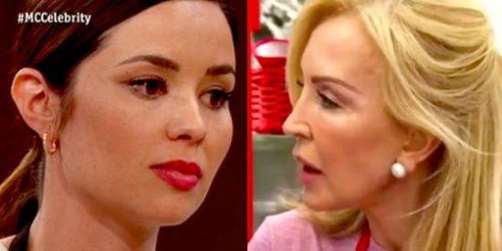 El golpe bajo de Carmen Lomana a la expulsada Dafne Fernández en 'MasterChef Celebrity 3'