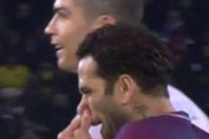 Dani Alves le 'tira un moco' a Cristiano y hace la pelota al Real Madrid