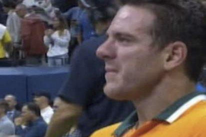 Así lloraba desconsolado Juan Martín del Potro tras perder la final del US Open