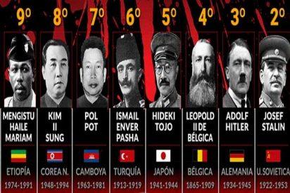 Estos fueron los 10 dictadores más sanguinarios del siglo XX