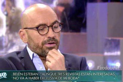 Diego Arrabal pone en su sitio a María Patiño tras el pasteleo de entrevista a Belén Esteban