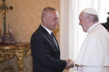 El Papa y el presidente de Albania hablan sobre la integración del país en la UE