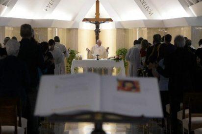 """Francisco: """"Los cristianos nunca deben entrar en el chisme o en la lógica de los insultos"""""""