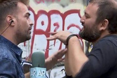 'El programa de Ana Rosa': un tipo amenaza con demandarlos tras lo que hacen en pleno directo