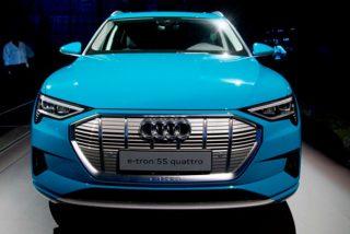 "Audi presenta al ""asesino"" de Tesla, su coche eléctrico E-Tron"