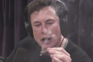 Elon Musk se fuma un super porro de marihuana en plena entrevista