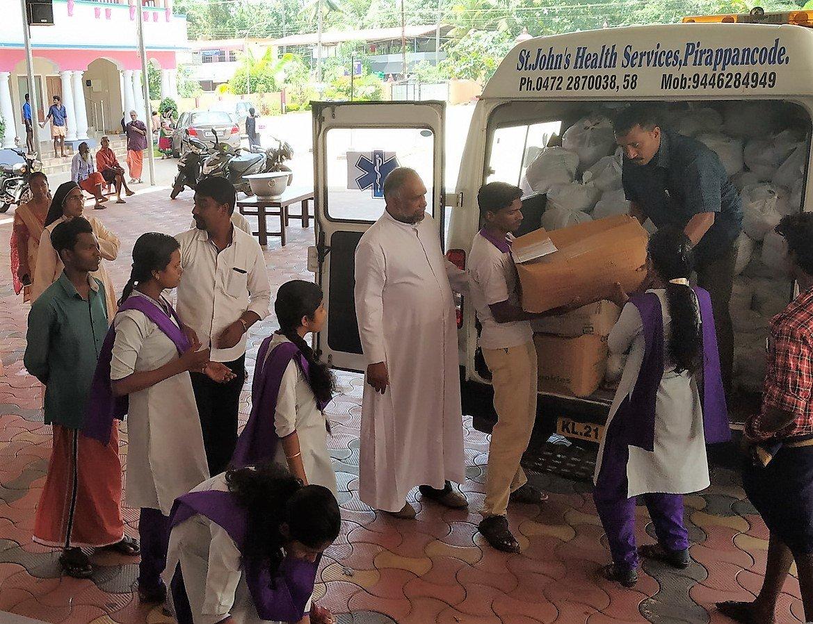 Manos Unidas lanza una campaña de emergencia por las lluvias en Kerala