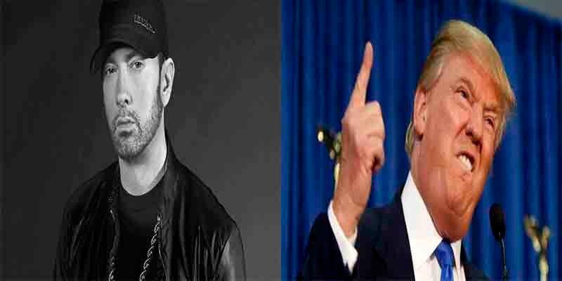 Eminem fue interrogado por el Servicio Secreto bajo órdenes de Trump