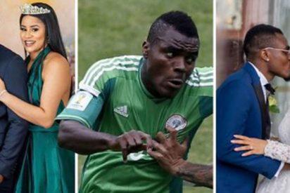 Este futbolista se divorcia de Miss Nigeria 2013 para casarse con Miss Nigeria 2014
