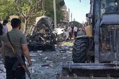 Filman un ataque químico escenificado en Idlib