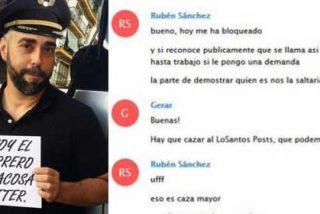 """Agoniza el #Facuogate: el podemita Rubén Sánchez pone en la diana a diputados de VOX y el PP """"y a los diarios de Marhuenda, Rojo e Inda"""" para disimular su fracaso"""