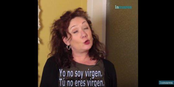 La gran cagada de Cristina Fallarás que le hará comerse el marrón del blasfemo Willy Toledo