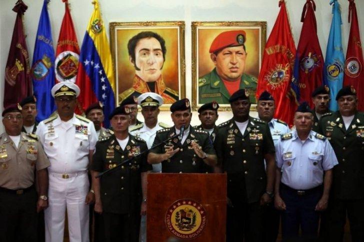 El ejército venezolano niega que traicionará a la dictadura chavista