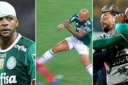 """Felipe Melo lo vuelve a demostrar: """"si no fuese futbolista, habría sido un asesino"""""""