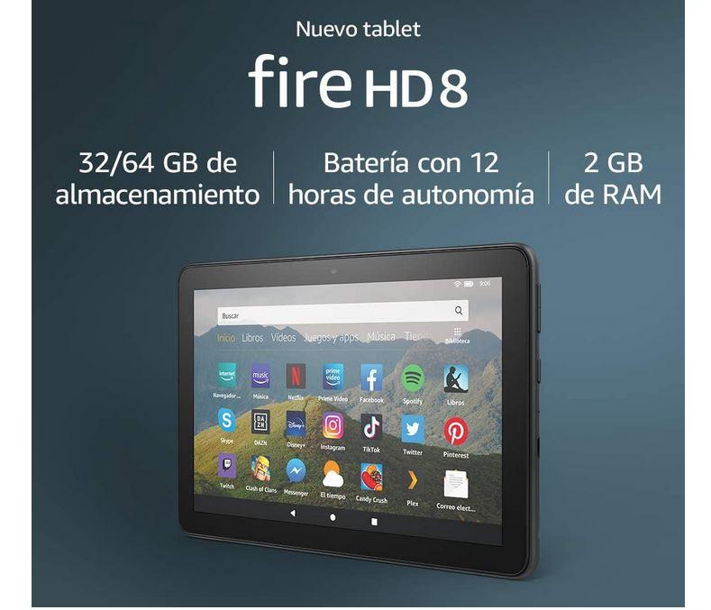 tablet Fire HD 8 2020