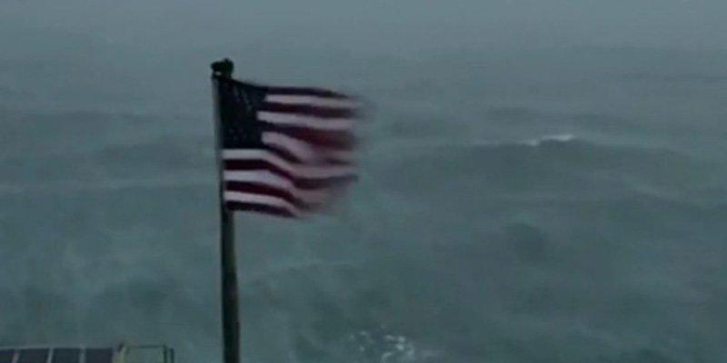 El Huracán Florence llegó a la costa este de Estados Unidos y ya causa estragos