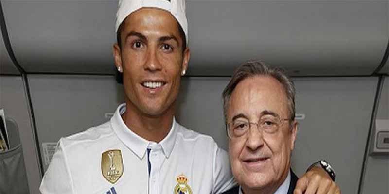 """Florentino Pérez: """"Cristiano Ronaldo se quería ir del Real Madrid y nadie nos daba más de 100 millones"""""""
