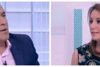'El Lechero' Fortes justifica la mordaza de Calvo a la prensa y se lleva un corte épico de Andrea Levy