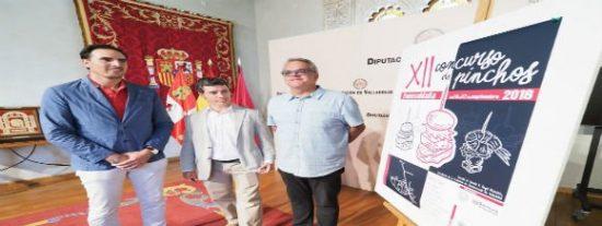 La Diputación de Valladolid presenta el XII Concurso de Pinchos de Fuensaldaña