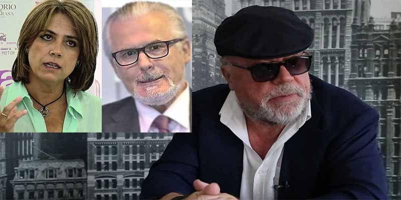 'La Gran Comilona: le dicen a la ministro Delgado que Villarejo montó un burdel de lujo para sacar información y le parece normal