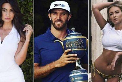 Golf: Dustin Johnson es el Nº 2 del ranking mundial con los palos y el Nº 1 poniendo cuernos