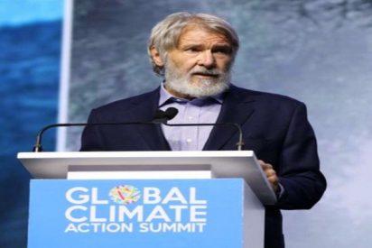 Harrison Ford pide que se deje de dar poder a los que no creen en la ciencia
