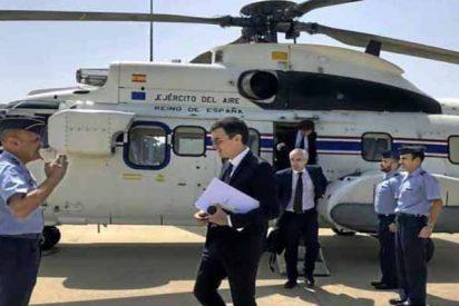 'Top Gun': el vicio de Pedro Sánchez por el helicóptero a 5.000 euros la hora