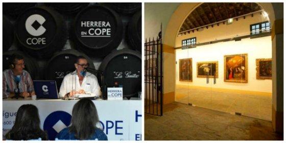 Un viaje por los vinos de Jerez con la 'compañía' de Carlos Herrera, Goya, Picasso y 'Alicia en el País de las Maravillas'