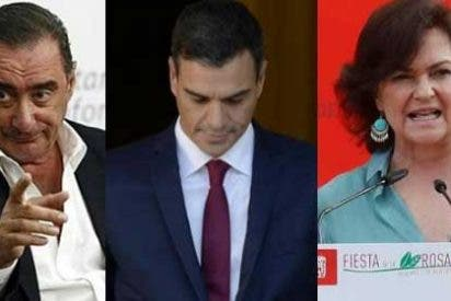 """Carlos Herrera le baja el pulgar a Sánchez y sus cuatreros del Ejecutivo: """"Más que un gobierno, esto es una banda"""""""